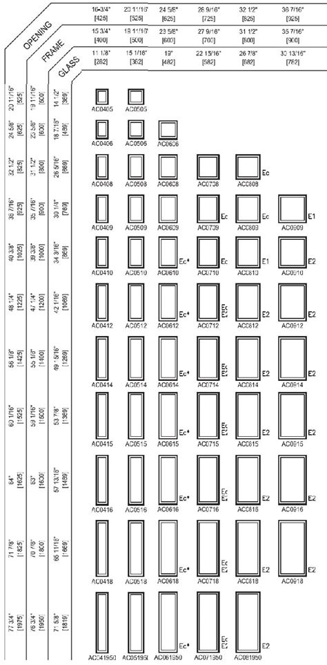 awning window sizes awning windows sizes