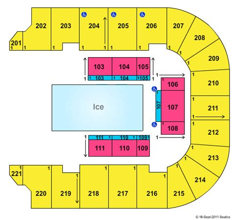 bancorpsouth arena seating map disney on tickets seating chart bancorpsouth arena