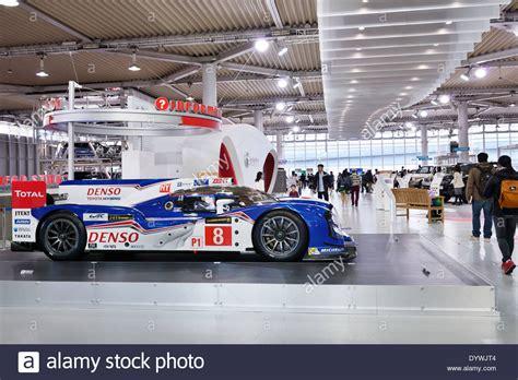 toyota web denso toyota hybrid ts040 race car at toyota mega web city