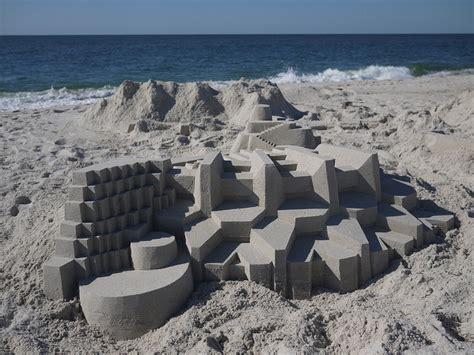 bensozia calvin seibert s sand castles incredible modernist sand castles by calvin seibert