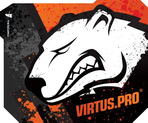 Plakat Virtus Pro by Specjalna Edycja Podkładek Pod Mysz Tesoro Z Logiem Virtus