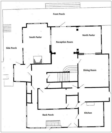 Florida House Plans With Pool Floor Plan Labels