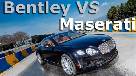 bentley vs maserati comparativa el lujo brit 225 nico contra