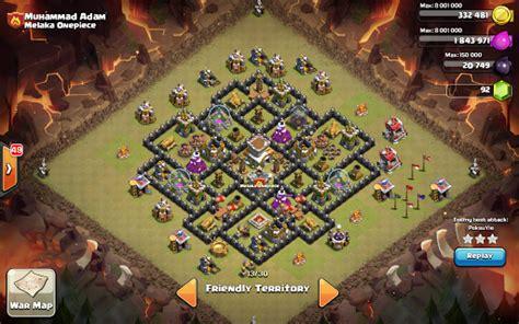 coc war base th8 hd coc moharil war base th8