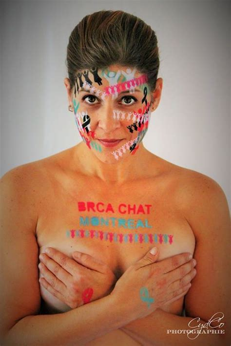nipple tattoo montreal karen lazarovitch of montreal created brca sisterhood the