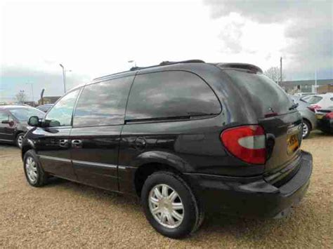 chrysler grand voyager 3 8 2006 auto images and specification chrysler 2006 06 grand voyager 2 8 limited 5d auto 150 bhp diesel