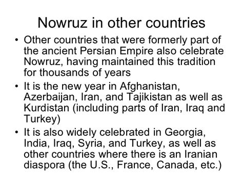 nowruz origins and celebration in the persian world