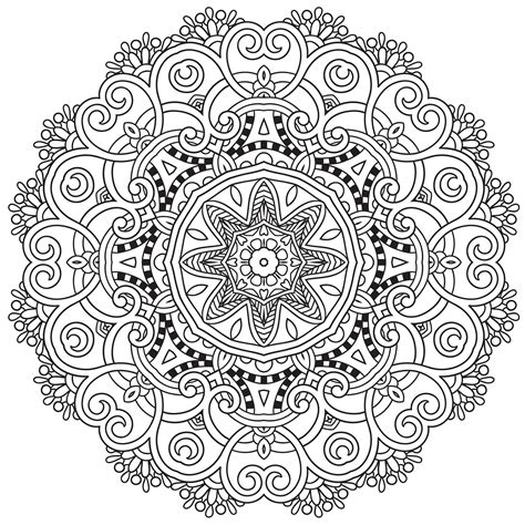 mandala to download spring difficult mandalas for