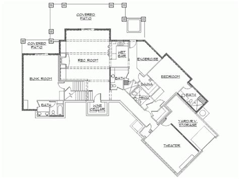 rambler plans the 28 best rambler house plans with walkout basement house plans 11654