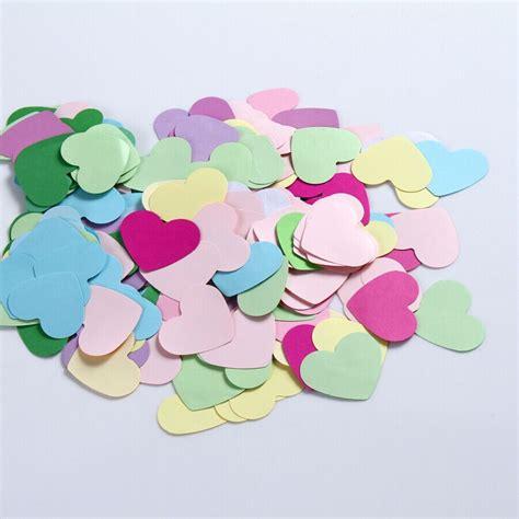 choosing a color scheme these paper hearts aliexpress com اشتري قطع 100 الكثير يموت قطع ورقة القلب
