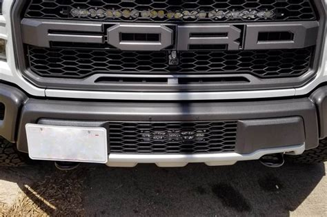 ford raptor grill lights baja designs 17 18 raptor onx6 hi power lower grille led