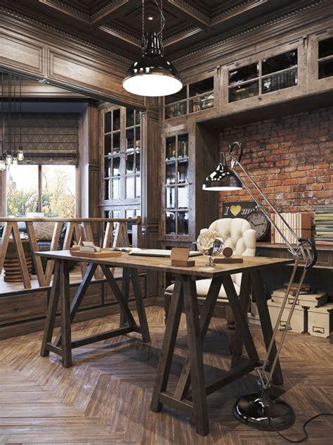 vintage design home instagram vintage office for a private residence denis krasikov