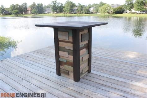 pub table plans modern reclaimed pub table diy plans rogue engineer