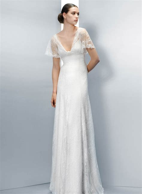 1940s Style Wedding Dresses by 1940s Lace Wedding Dresses Www Pixshark Images