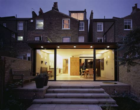 House Plan Examples by Rollscourt Avenue Rear Extension Ambo Architects