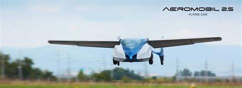 auto futuro volanti aeromobil 2 5 in futuro viaggeremo su auto volanti