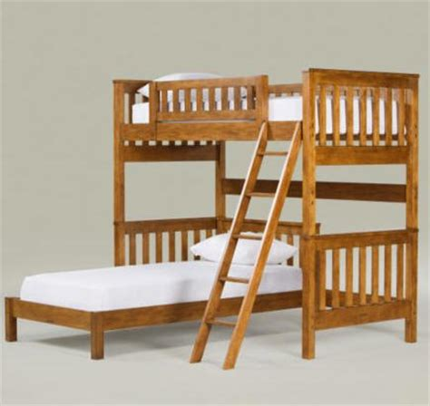perpendicular bunk beds wood furniture biz products ethan allen tango