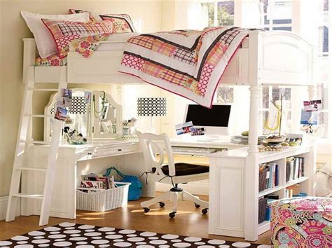 Bedroom How To Build A Loft Bed With Desk Underneath White Bunk Bed With Desk Underneath