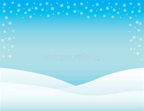 Winter Flyer Background