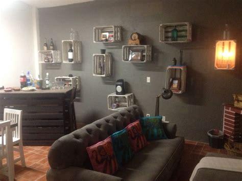 como decorar mi cuarto con huacales decoraci 243 n con guacales me lo dijo lola