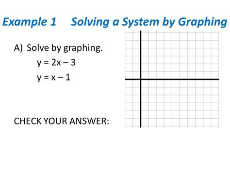 Solving Systems By Graphing Worksheet 6 1 by Section 7 1 Solving Systems Of Equations By Graphing