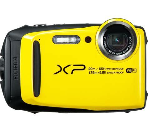 fuji compact fujifilm xp120 tough compact yellow deals pc world