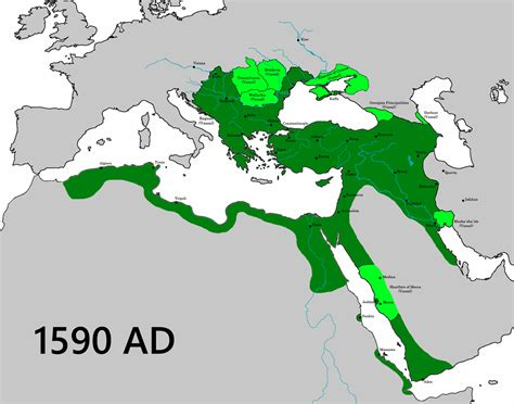 Ottoman Empire Largest Borders Legitimate Borders Of The Turkey