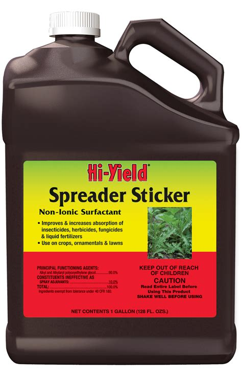 Hi Yield Spreader Sticker