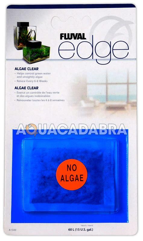 Shoo Clear Sachet fluval edge fish tank algae clear sachet for filter green