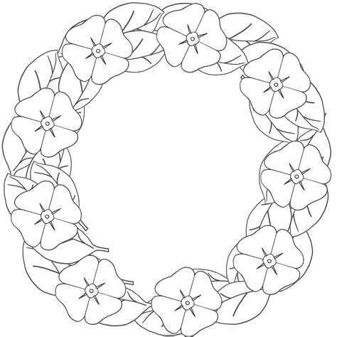 flower wreath coloring page 12 pics of coloring page flower wreath christmas flower