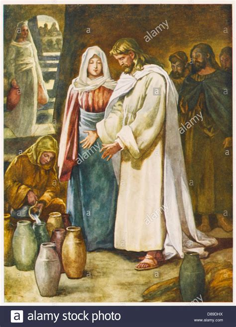 Jesus Wedding At Cana by Jesus At Cana Marriage Stock Photo Royalty Free Image