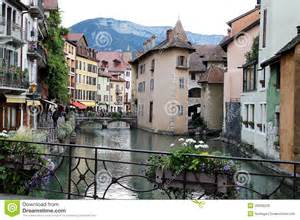 House Building Plans With Prices chamonix village arve river france stock photo image