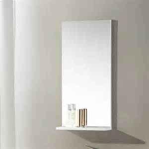 bathroom mirror with shelf attached 400x800mm modern bathroom mirror with shelf rectangular wall mounted ebay