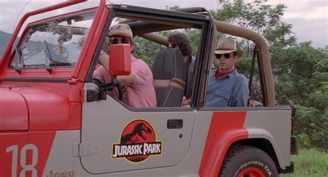 cars movie jeep jeep wrangler cars in jurassic park 1993 movie scenes