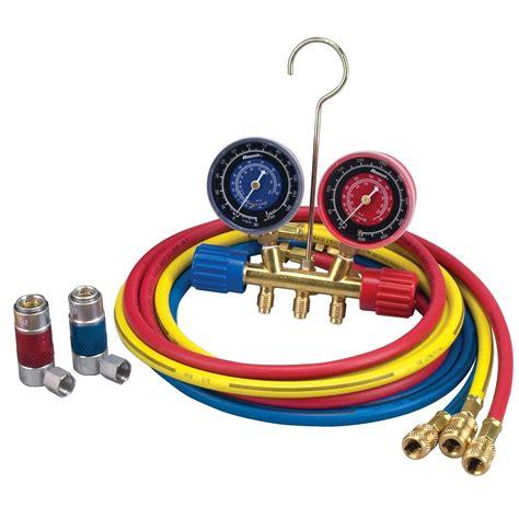 Manifold Robinair r134a manifold hose kit robinair mfg corp 45111