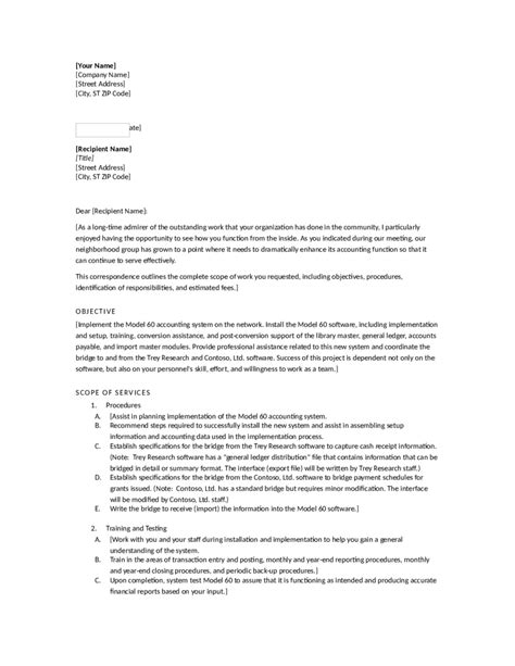 proposal letter for project proposal sales cover letter