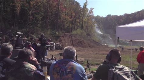 Knob Creek Range by Knob Creek Gun Range Machine Gun Shoot Oct 2012