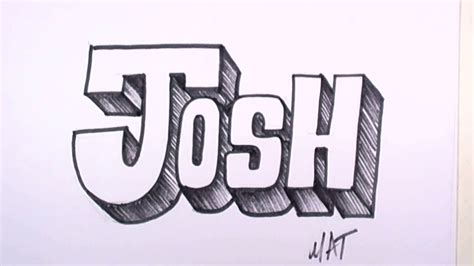 doodle name joshua graffiti writing josh name design 31 in 50 names