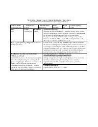 nursing med card template word cards drugs and index cards on