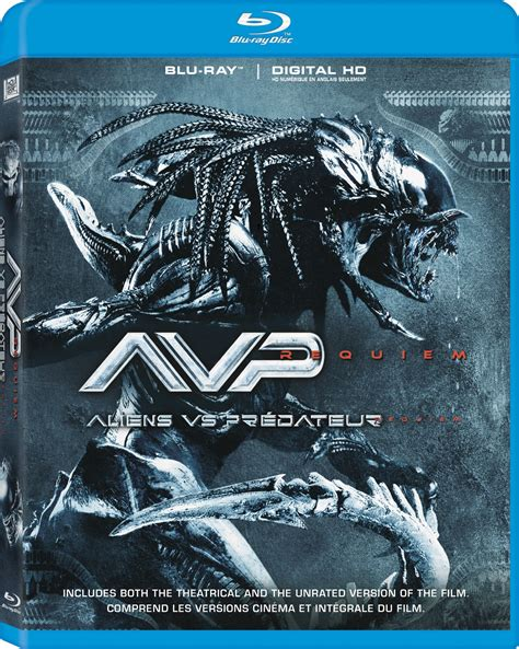 Bluray Ori The Predator avpr aliens vs predator requiem dvd release date april