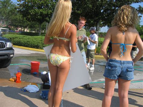 high school girls bikinis bikini car wash not bl8antband girls beautiful