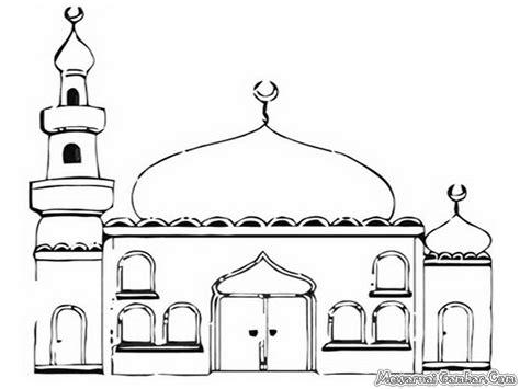 gambar mewarnai masjid kumpulan mewarnai gambar masjid ini image gallery photogyps