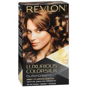 revlon permanent color light golden brown 54g 1