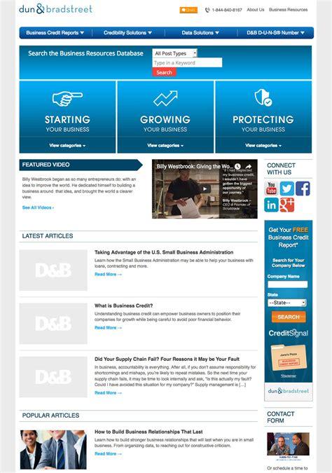 Duns Lookup Dun Bradstreet Design Development Portfolio