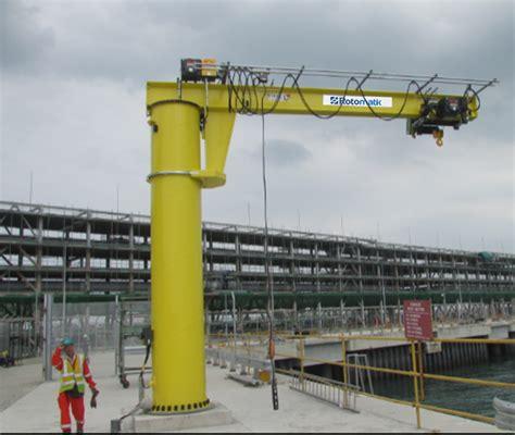 motorized crane jib cranes rotomatik