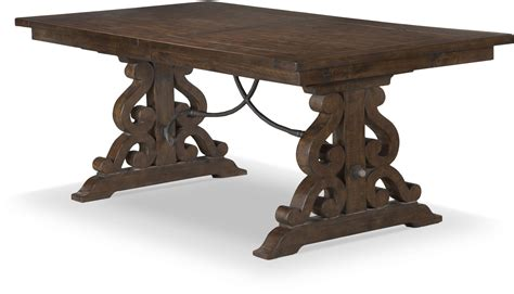 rustic rectangular dining table st rustic pine extendable rectangular dining table