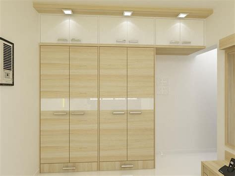 nice minimalist wardrobe design for bedroom