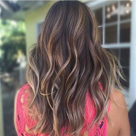 partial highlights for brunettes 6 hot partial highlights ideas for brunettes partial