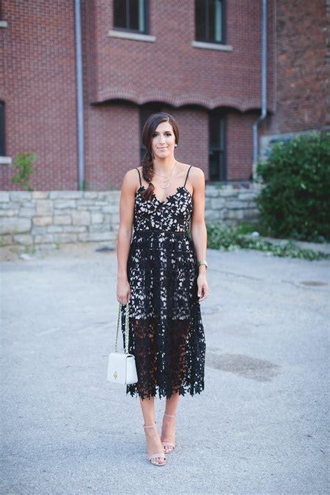 Lace Spaghetti Midi Dress lace midi dress fashion looks for