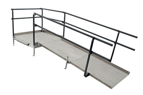 Ada Requirements For Handrails Modular Wheelchair Ramps Modular Wheelchair Ramp Systems